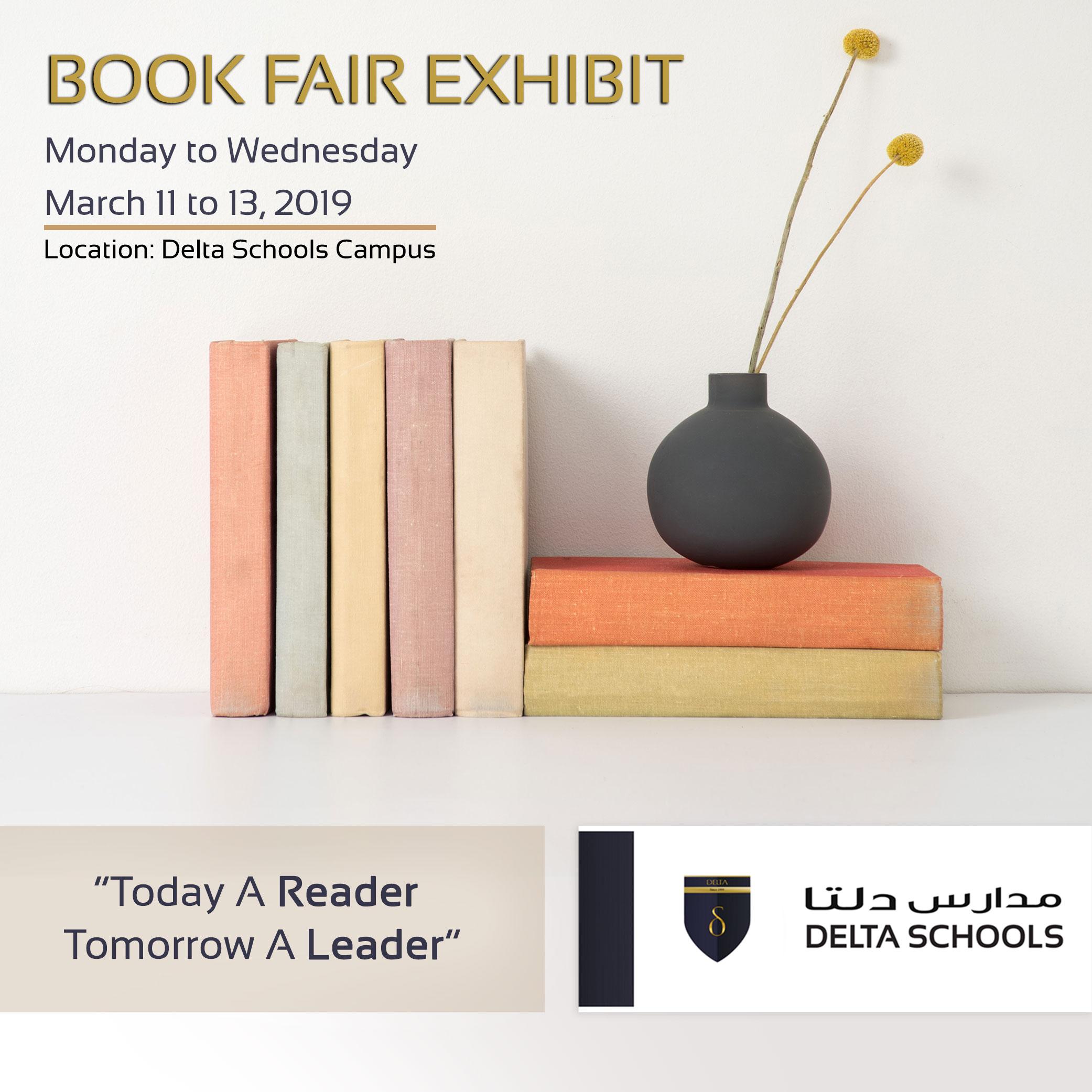 book fair delta schools