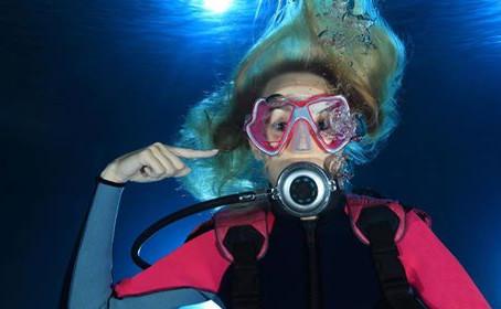 Cuidado com os ouvidos no mergulho