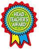 Headteacher Rosette