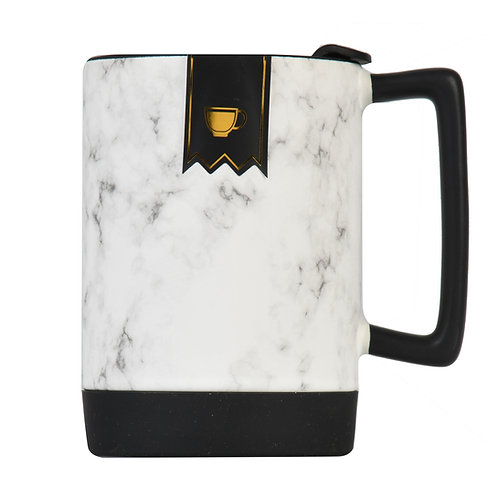 Ceramic 15.5 Oz. Travel Mug with Lid