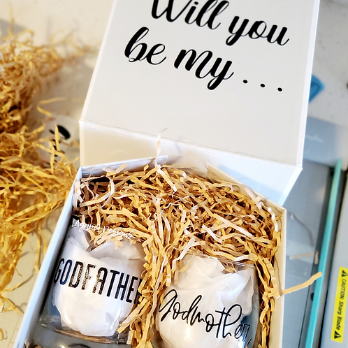 Godparent Proposal Gift Box | Agape Luxe