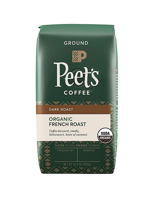 Peet's Coffee French Roast Dark Roast Ground Coffee
