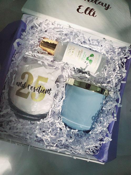 Simply Elegant | Custom Birthday Gift Box