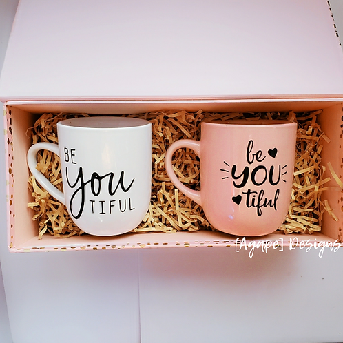 Be•YOU•tiful Mug Duo
