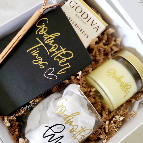Godmother Proposal Box | Agape Luxe