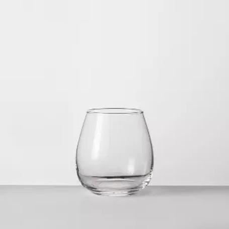 16oz Stemless Glass