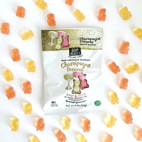 Project 7 Gourmet Gummies Champagne Dreams Brut & Rose