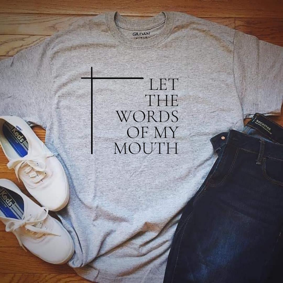 letthewordsofmymouth-logo-grey-tshirt-la