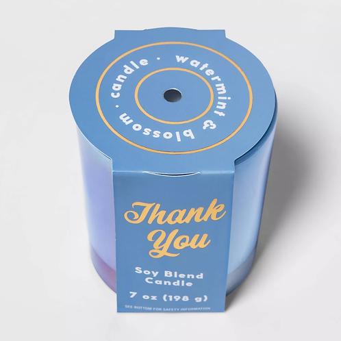Iridescent Glass Jar Candle - Opalhouse™ (7oz)