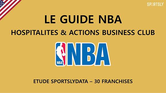 NBA : Offres Hospitalités et Business Club