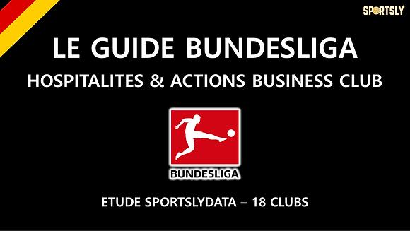 Bundesliga : Offres Hospitalités et les Bu