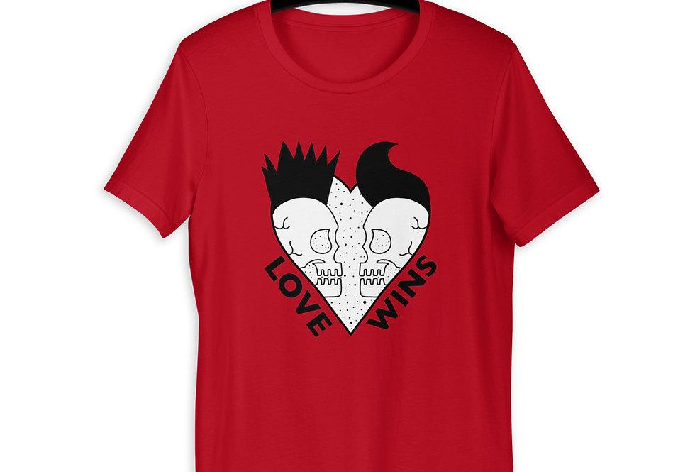 Love Wins Short-Sleeve T-Shirt