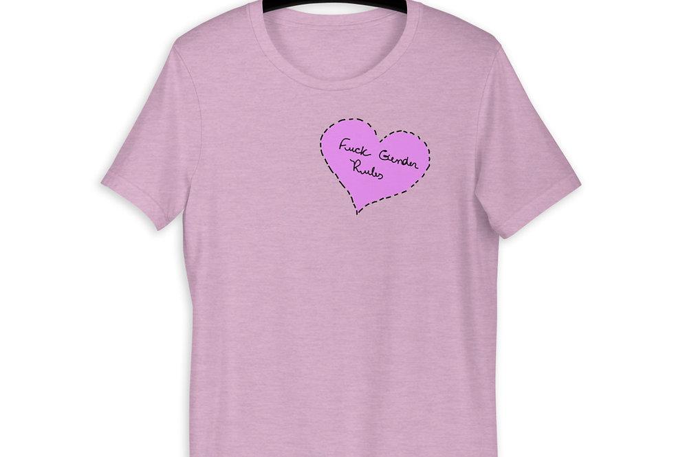 F*CK Gender Rules Short-Sleeve T-Shirt