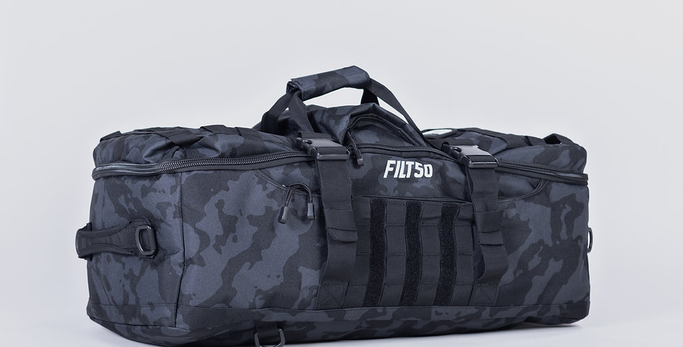 L&T DUFFLE BAG - (BlackCamo)