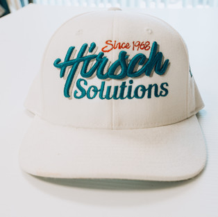 3D Embroidery on cap