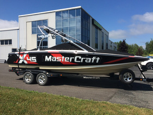Boat wraps and lettering