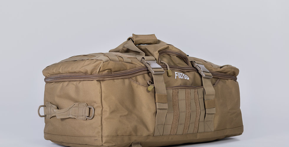 L&T DUFFLE BAG - (Tan)