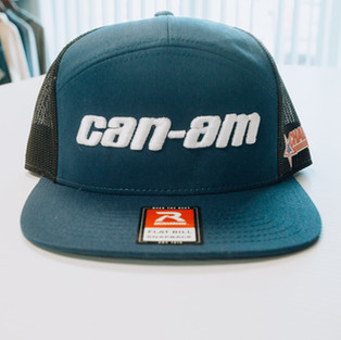 3D embroidery on hat