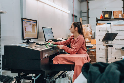 Digital printing - DTG in Canada