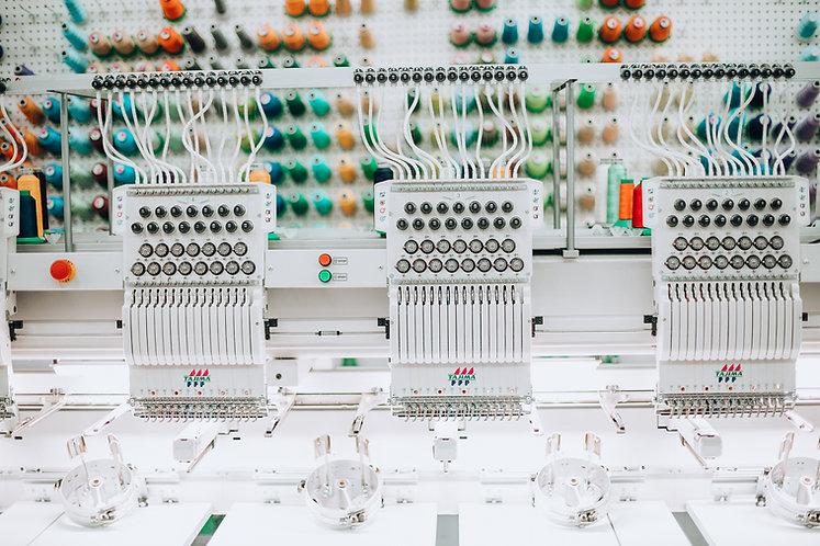 Embroidery machine in Canada