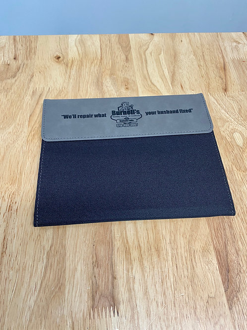 Burnell's Portfolio Notebook