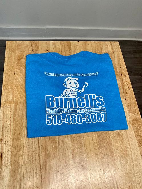 Burnell's Co. Shirt Light Blue