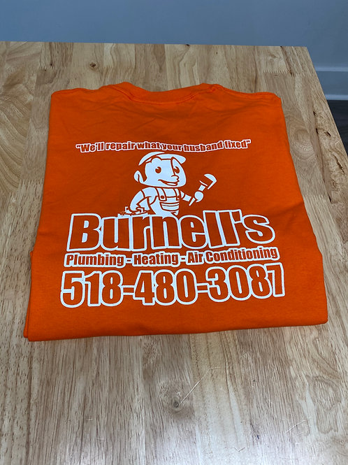 Burnell's Co. Shirt Orange