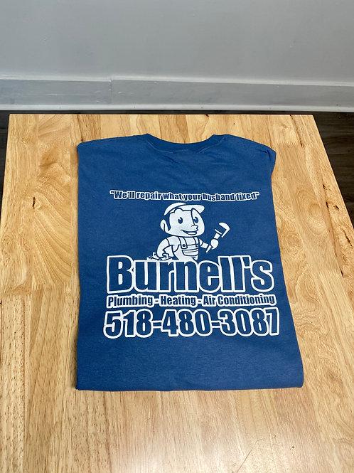 Burnell's Co. Shirt Dark Blue