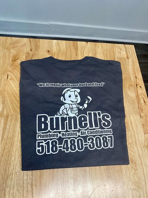 Burnell's Co. Shirt Dark Grey