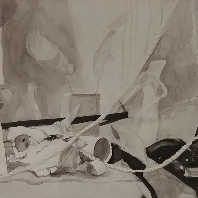 Ink Wash Drawing