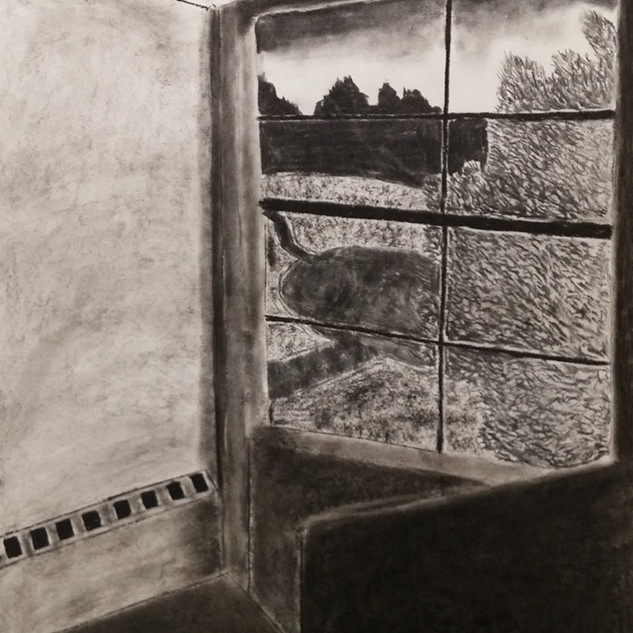 Student Work - Charcoal Drawing