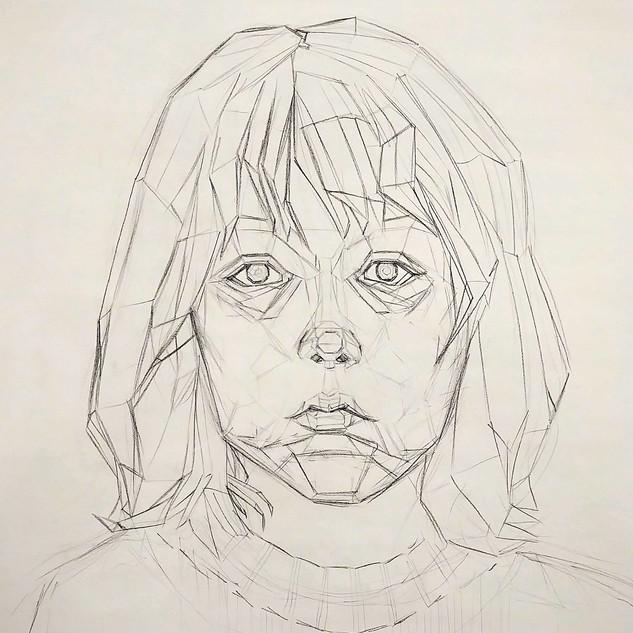 Student Work - Self Portrait