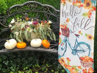 The Couture Wreath & Home Decor: Fall Yard, Porch, Patio Refresh