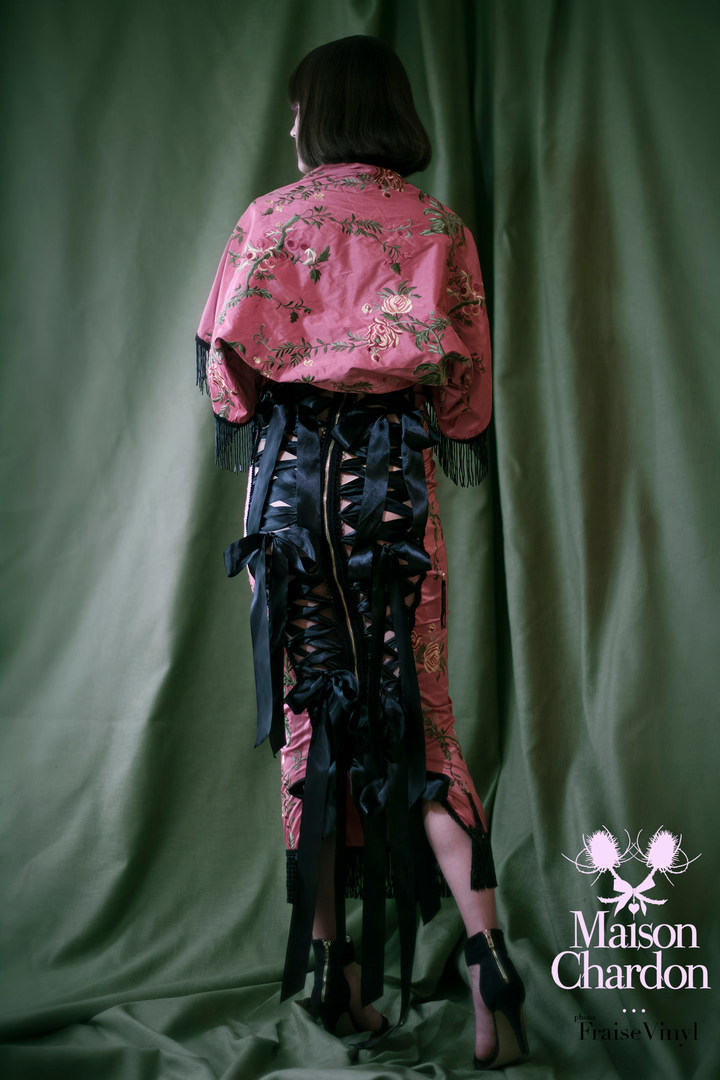Grimpante Double corset skirt and Boléro
