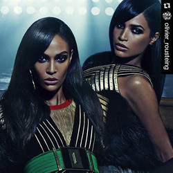 Love the new balmain campaign ❤ makeup is to die for!! 😍👌 #Repost _olivier_rousteing_・・・_THE BALMA