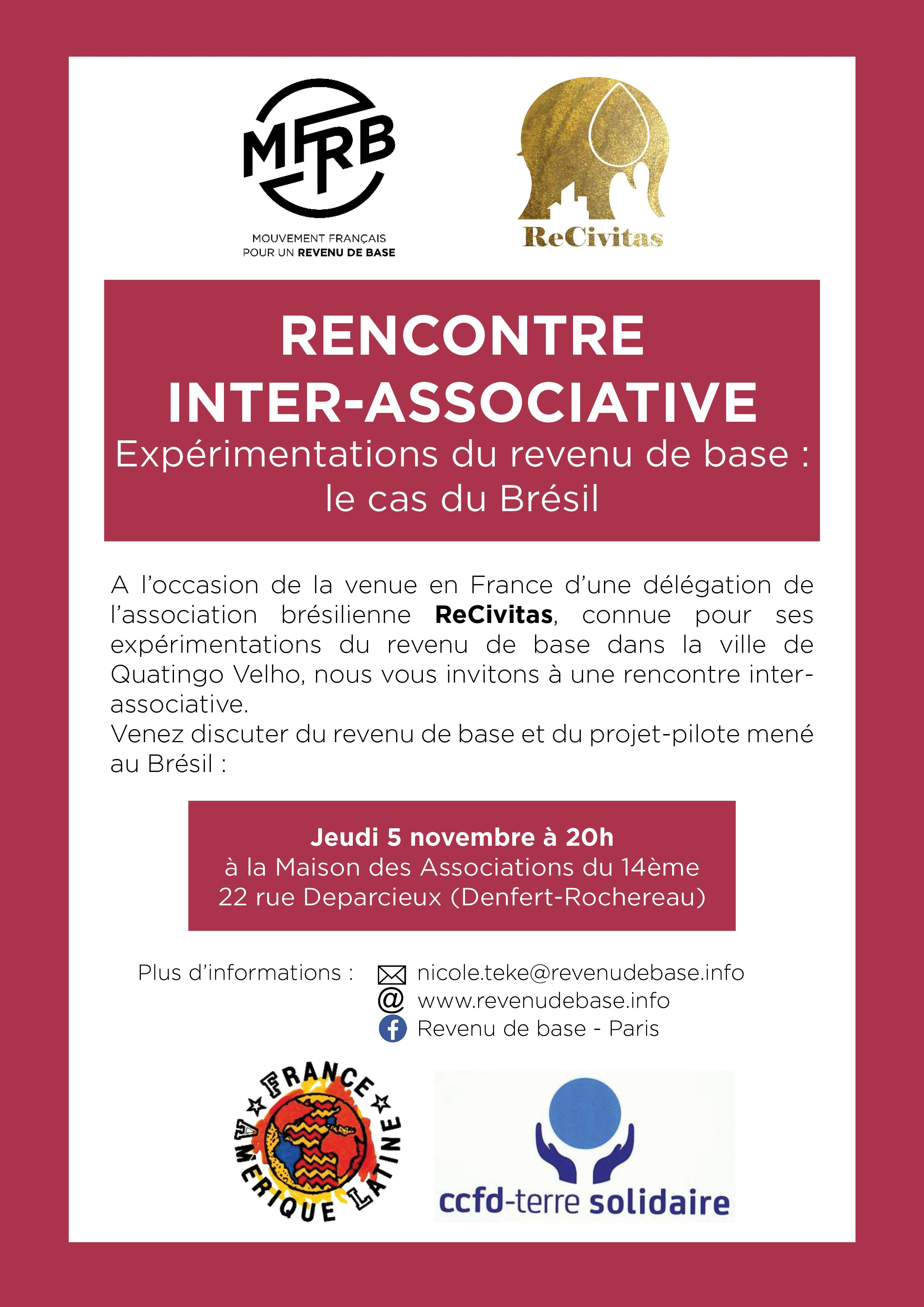 Affiche Rencontre Interasso comp