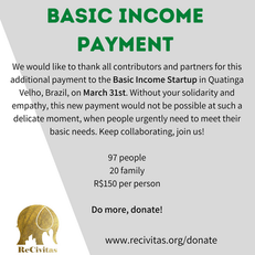 Basic Income payment