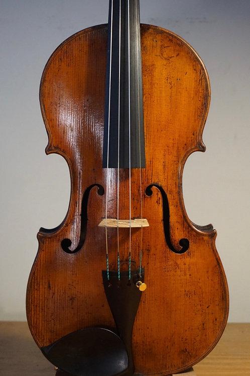 French violin c. 1880, Mirecourt