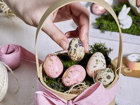 DIY-Osternest. Einfaches und individuelles Geschenk zu Ostern.