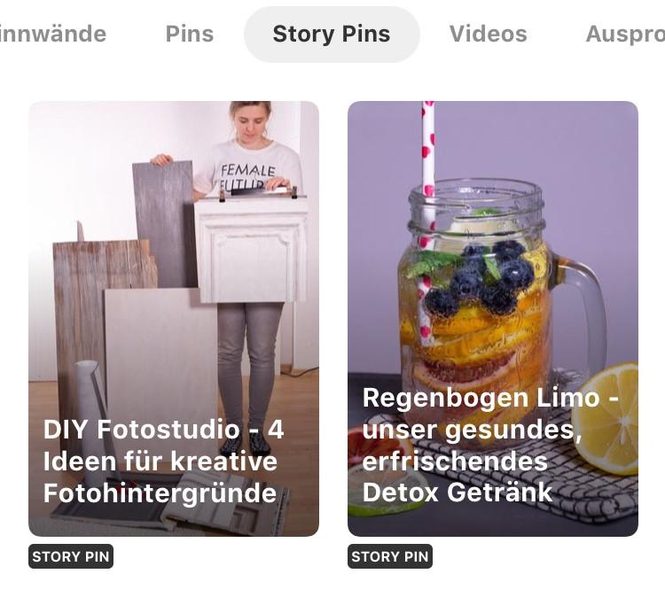 Wir produzieren für dich Story Pins, nutzen unsere Reichweite und verlinken auf deine Website. So kannst du Pinner nachhaltig mit deiner Marke vernetzen und den Traffic auf deine Seite bringen.