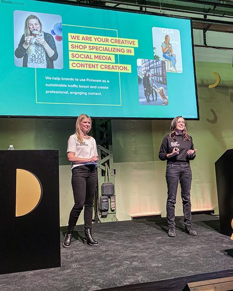 StudioStories. Creative Content - speaker at spark marketing conference,  Copenhagen