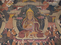 A unique Tibetan Thangka on display for your viewing, study and meditation practice!