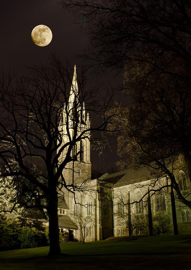 Church at High Moon