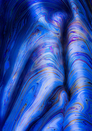 La Brea Tar Pits (Blue)