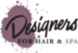 Designers for Hair & Spa Logo
