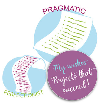 Keeping a balance between pragmatism and perfectionism