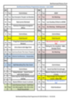Berkhamsted Rotary Club Programme 2H 201