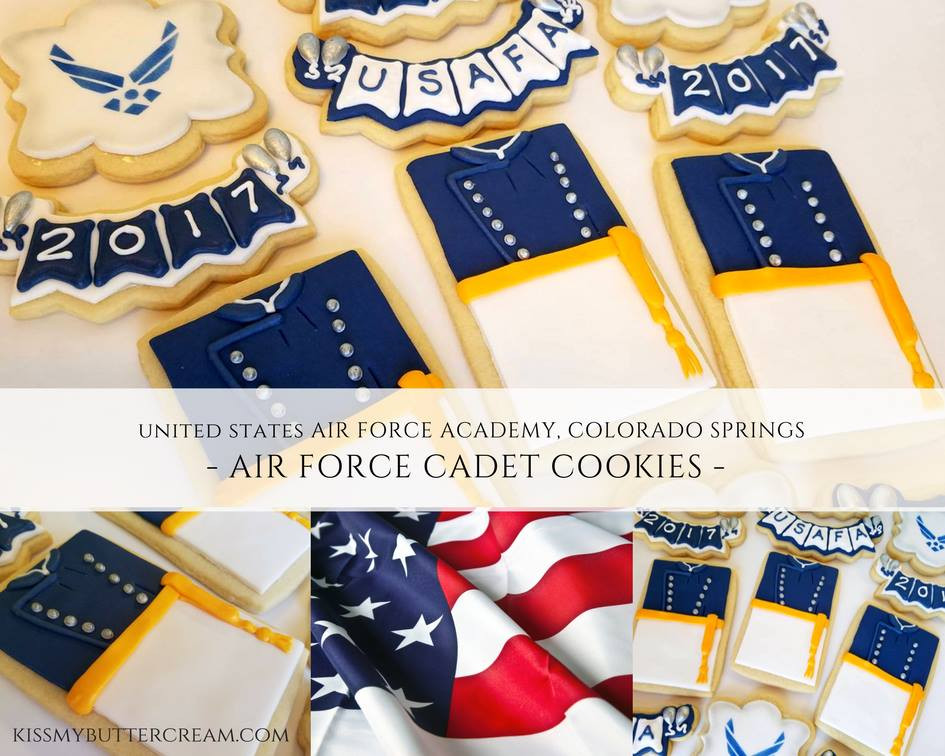 Cadet Graduation Cookies