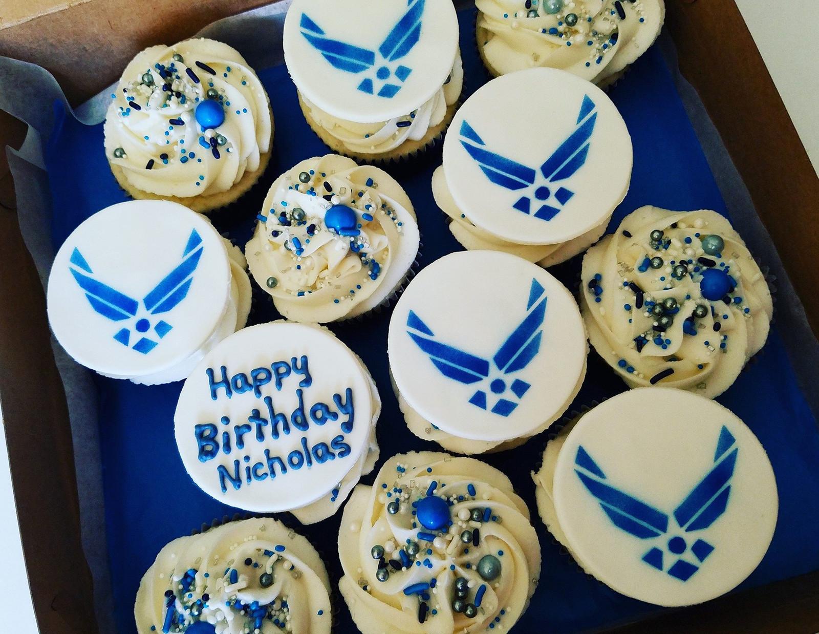 Cadet Graduation Cookies Cupcakes Cake