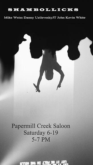 The shambollicks Papermill Creek Saloon